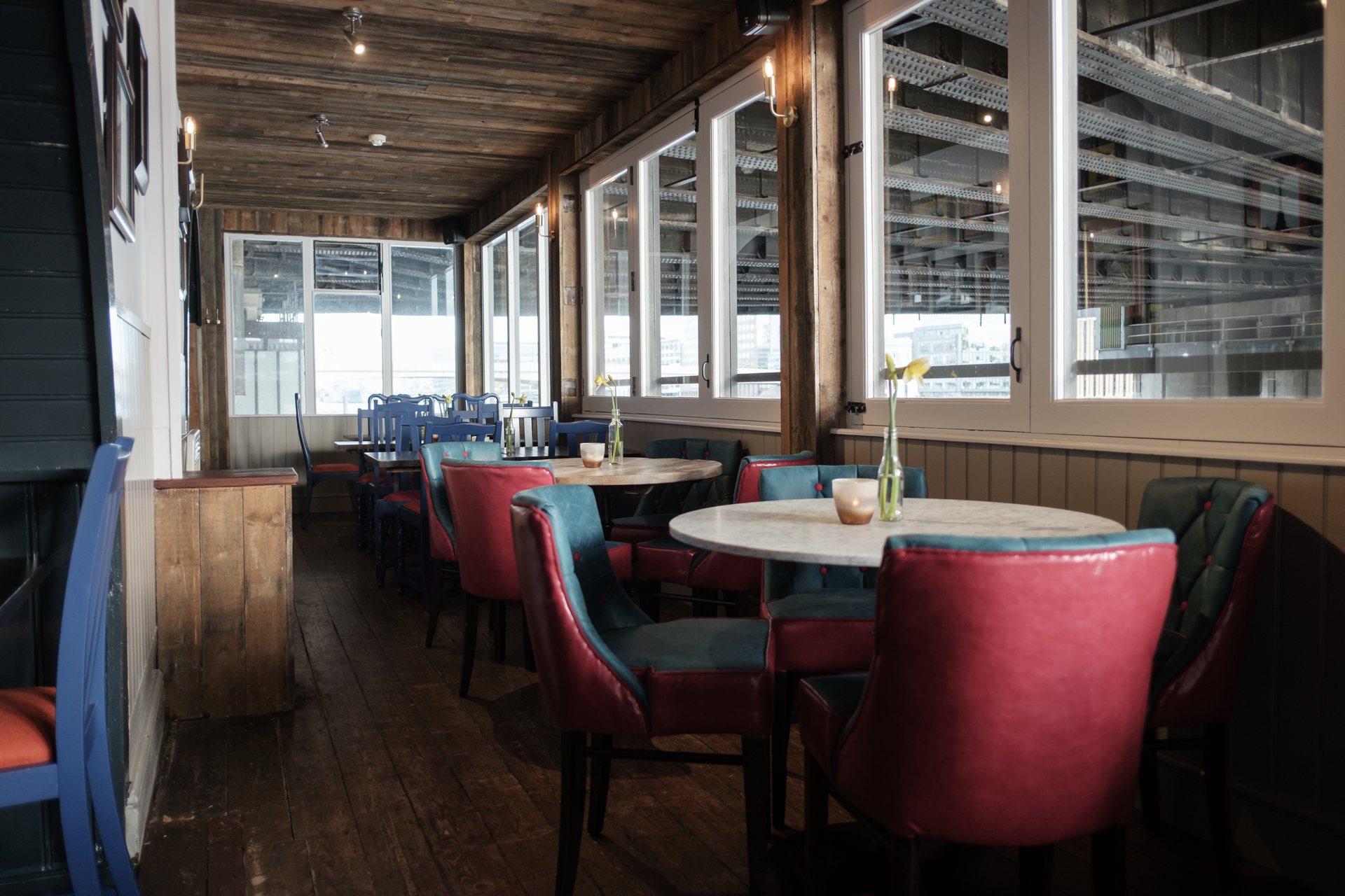 Riverside Terrace at the Banker Pub London