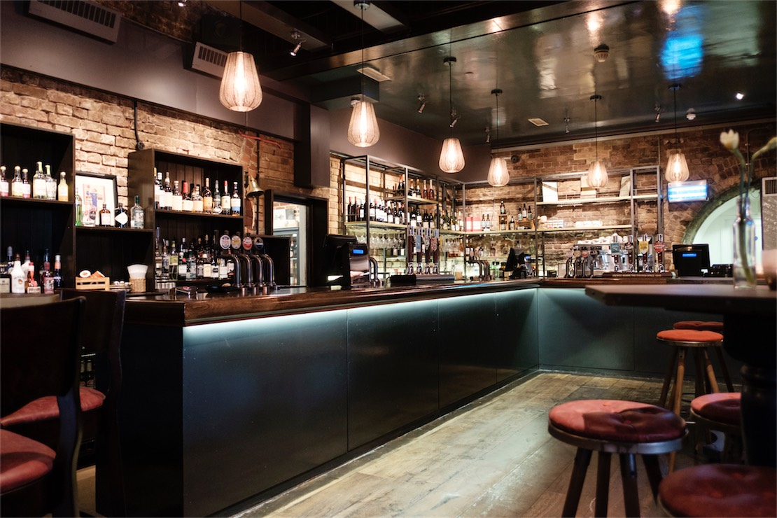 Main Bar at the Banker Pub London